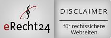 erecht24 disclaimer